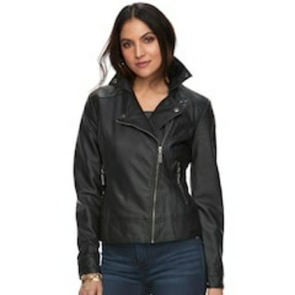 Rock & Republic Jackets & Blazers - New Rock & Republic Faux Leather Jacket